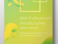 Sucuri Web Professional Security Survey - 2019