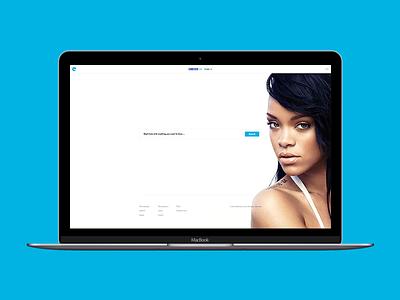 Convert for Web — Home minimal modern music downloader home convert web