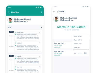 medpock uxui mobile ui uidesign ux uiux ui mobile app healthy health nurse hospital patient medical doctor