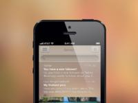 Inbox mock iphone