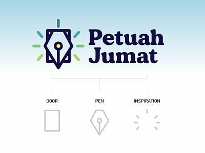 Petuah Jumat Logo ui design logo graphic design