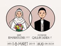 Wedding Invitation: Ranti & Qaulan