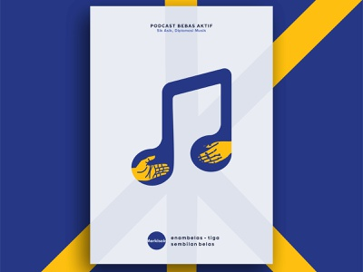 #MARKISAIN 16 MUSIC DIPLOMATION podcast diplomation music illustration vector graphic design
