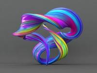 Fluid Paint Sculptire