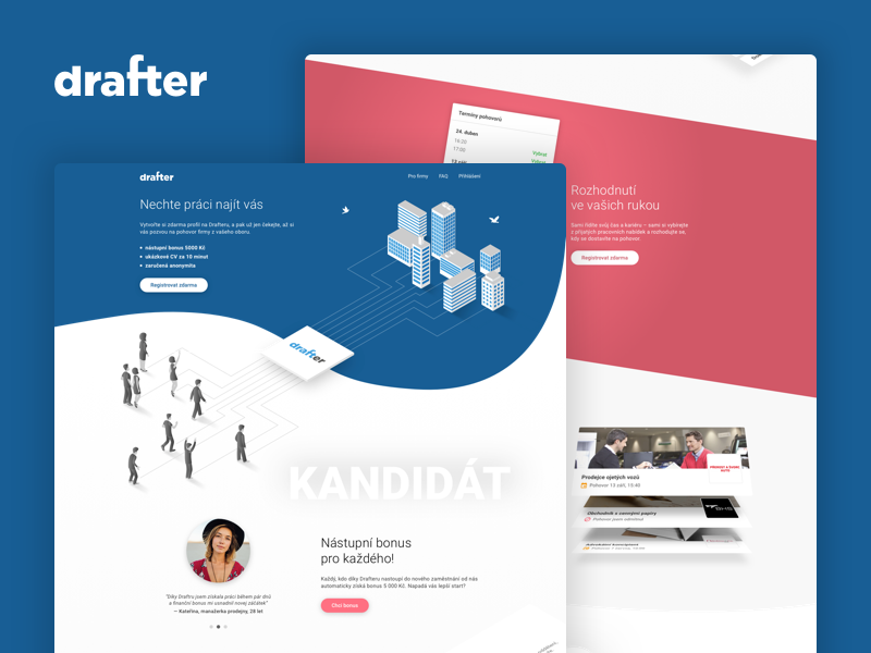 Drafter - HR platform by Rob Tarabčák on Dribbble