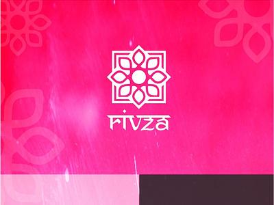 Rivza logo design attractive fashion ethnic graphic design logo creative clothing business