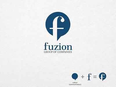 Fusion Logo design logo design illustration branding creative business