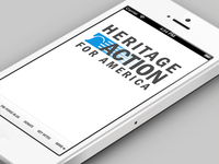 Heritage Action Home Screen Iphone
