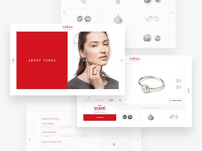 Yurga Yewelry yurga silver necklace gold yewel birds ecommerce eshop yewelry glass gem jewellery