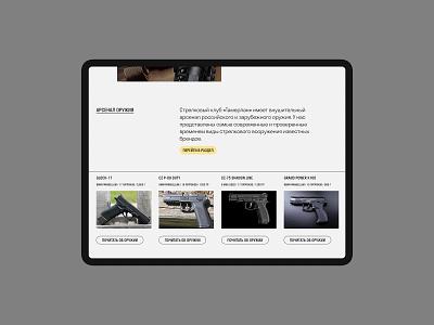 Tamerlan pitcher-tamerlan guns minimal ux ui web flat website typography design