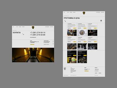 Tamerlan pitcher-tamerlan design website web typogaphy flat ux ui minimal guns