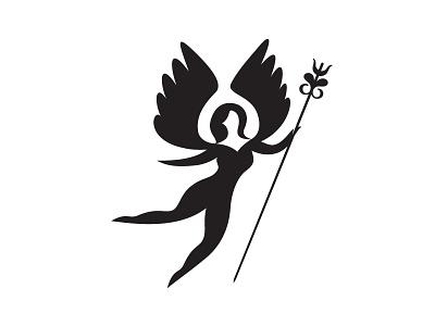 lance lance wings flower woman minimal ff