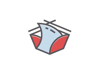 Sushi box ff line box shark fin sushi