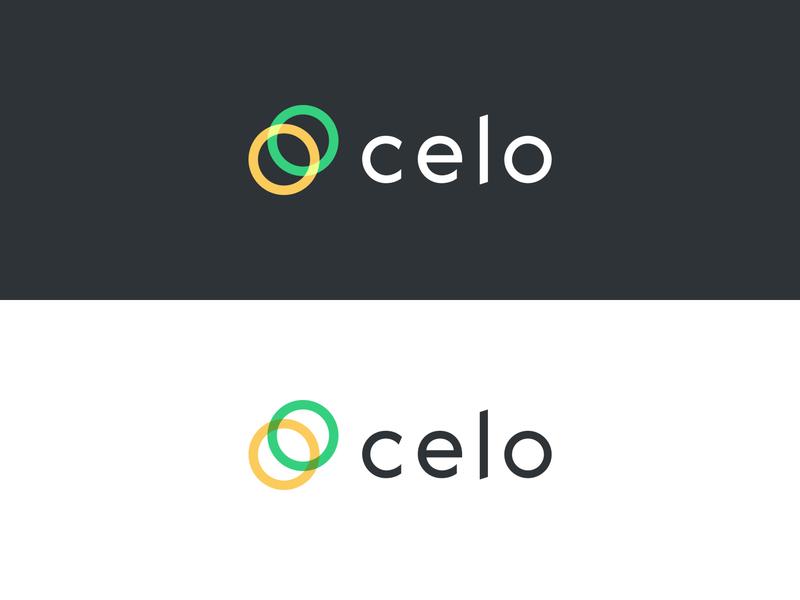 Celo Logo, Glyph and logotype platform cryptocurrency crypto