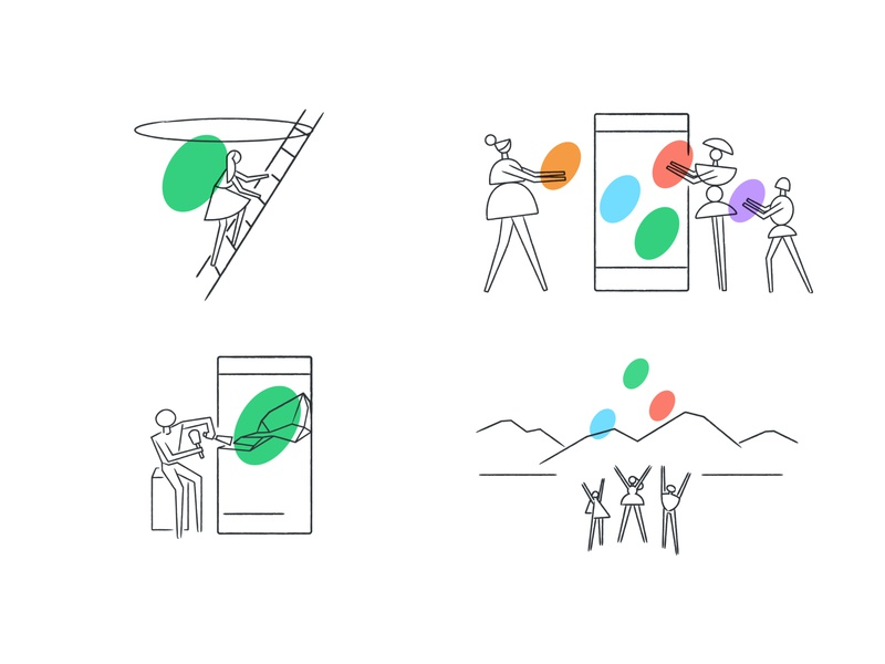 Community Tenet Illustrations cryptocurrency crypto