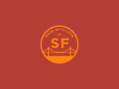 City Pride san francisco san francisco logo mark gold red sf