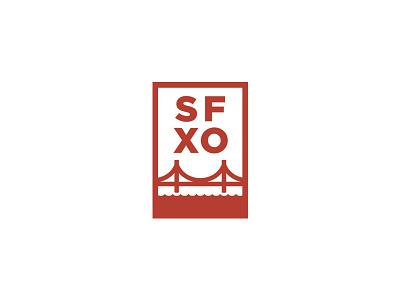 SFXO chop chop sanfrancisco bandw san francisco illustration bridge water bay lines thick lines thick gotham