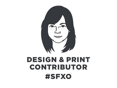 Design & Print Contributor - Ashling sfxo san francisco sf stationery branding print design