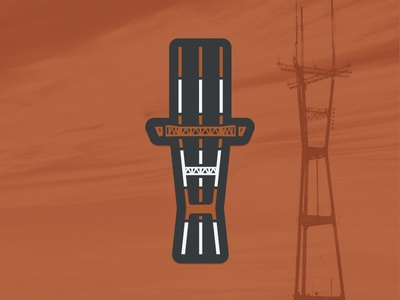 Sutro Tower Magnet san francisco sf sutro tower