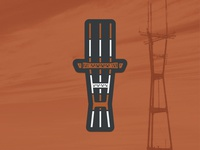 Sutro Tower Magnet