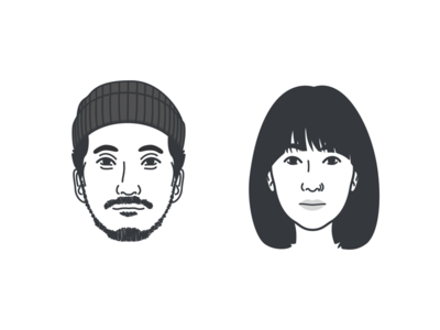 ODSY Workshop's Soojin and Yina makers guy girl face avatar