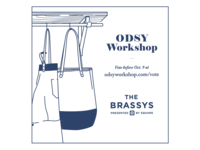 Vote Odsy Workshop for a Brassy! - Blue Version