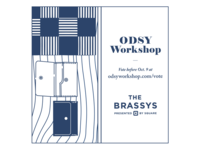 Vote Odsy Workshop for a Brassy! -2, Blue Version