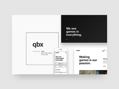 My portfolio - project screen white web ui typo portfolio minimal layout grid dsgnr designer beard