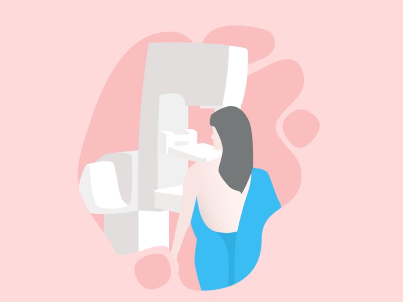 Scanmed - illustration v.3 doctor clean graphic vector illustration vector illustrations clinic woman health hospital illustration art character illustration characterdesign character adobeillustration adobeillustator illustartor illustration