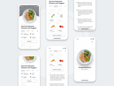 DinnerRoller - An idea cooked for you - Dish Process