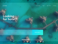 Book a Hotel Landing Page