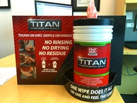 Titan Towels Counter Display