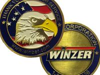 Winzer Military Service Challenge Coin