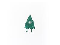 treeple rubber stamp