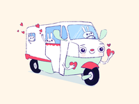 love truckster, squishy