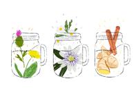 herbal detox waters