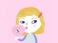 bubblegum butterfly