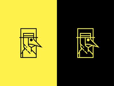 A New Plague plague doctor plague illustration logo design graphic design