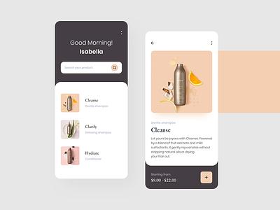 Form Beauty App colors ecommerce mobile app design mobile app minimal clean app apps mobile ios ux ui trend 2019 android app
