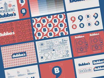 Bubba's Branding adobe illustrator logomark wordmark type vector typography los angeles logos logo branding graphic design
