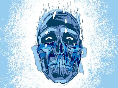Fear Skull Sketch colorado changethethought christopher cox graphic art vector art adobe illustrator halloween skull skulls vector drawing sketch drawing brand vector illustration logo typography branding graphic design