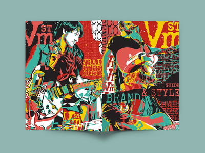 Vrain Street Music Branding