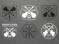 Rocky Mountain Recorders Branding
