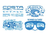 Costa Del Mar Promotional Graphics and Illustrations