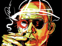 Hunter S. Thompson Portrait