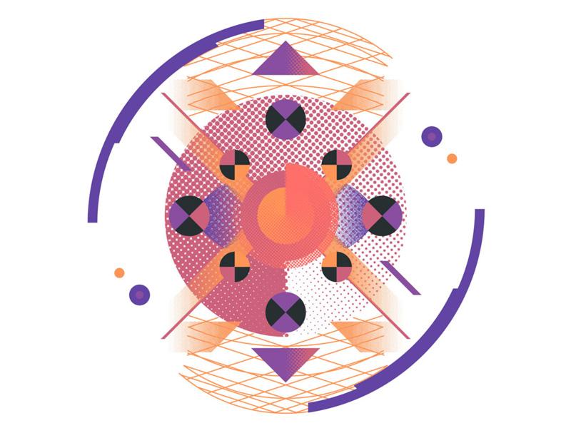 IBM Data Visualizations design editorial brand typography vector vector art graphic design branding ibm