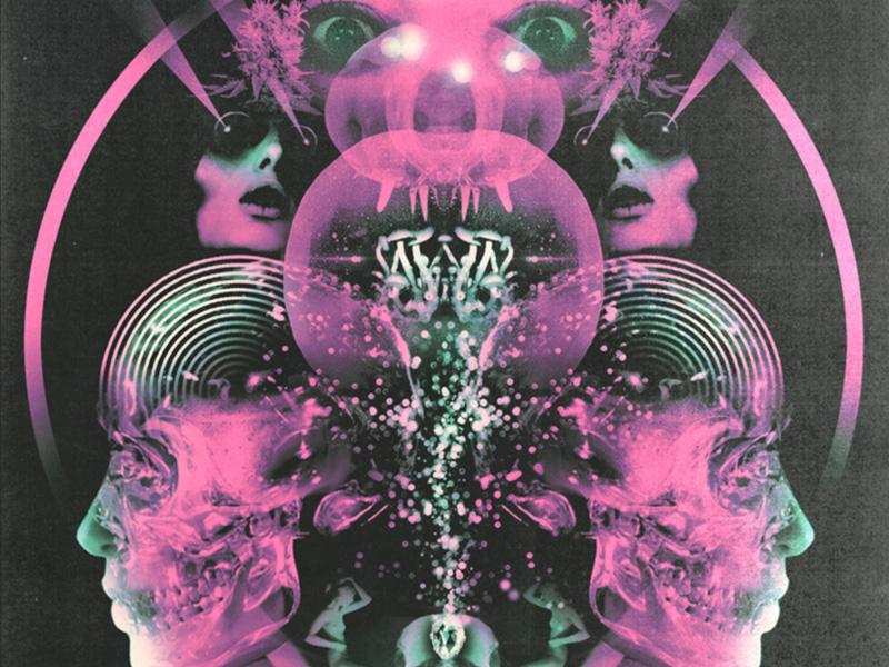 Acid Trip Visuals design illustrate illustration graphic design photoshop collage psychedelic