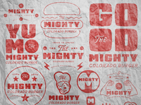 The Mighty Burger Branding
