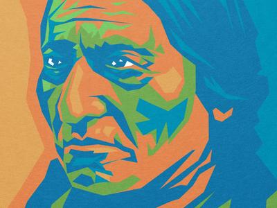 Sitting Bull Environmental Graphics Mural