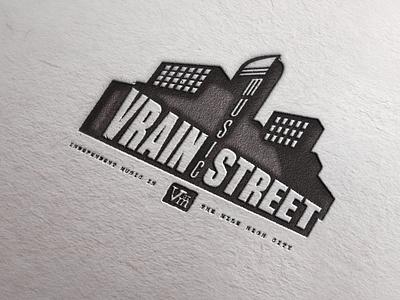 Vrain Street Music Branding music denver logo design logo identity typography branding graphic design